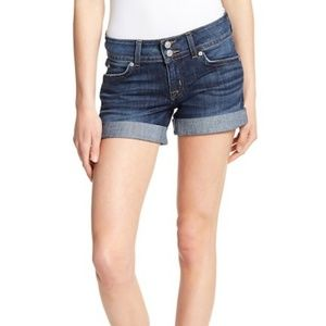 Hudson Jeans Denim Cuffed Riley Shorts in Wilson